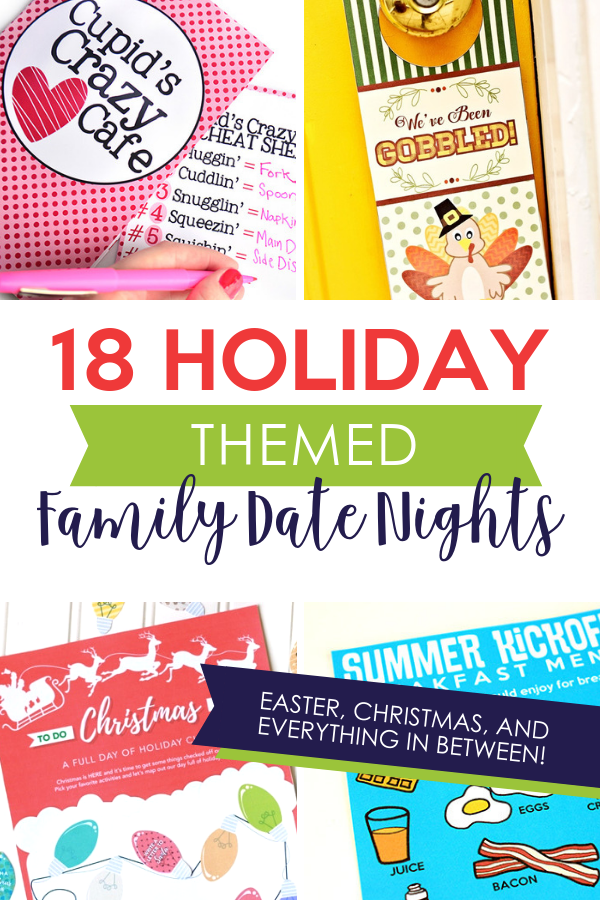 Holiday Themed Family Fun Night Ideas