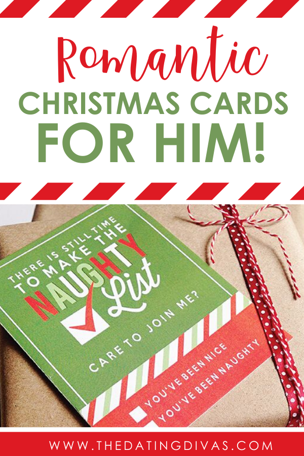 The CUTEST romantic Christmas cards that will bring some Christmas lovin' this holiday season. ;) #RomanticChristmasCards #ChristmasLoveMessages