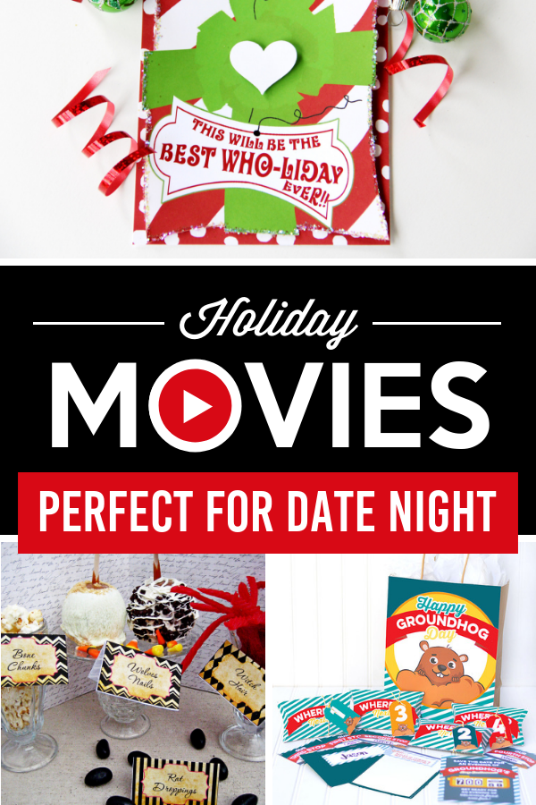 At Home Holiday Movie Night Ideas