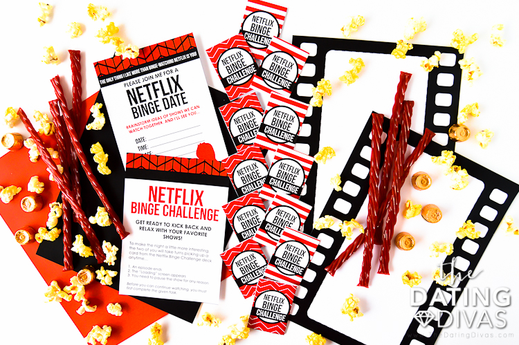 Netflix movie date night ideas.