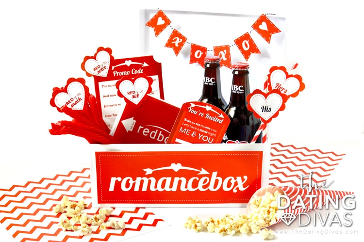 A Movie Date Night Idea for a Redbox date night.