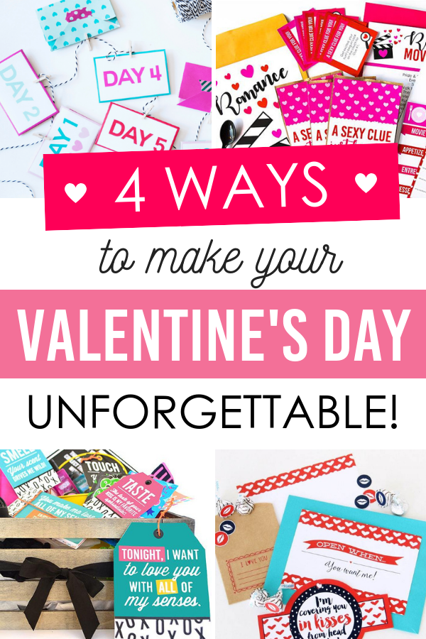 4 Ways to make your Valentine's Day unforgettable