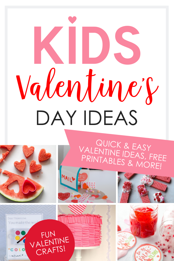 image relating to Starburst Valentine Printable known as Young children Valentines Working day Options Snacks, Items Additional - The