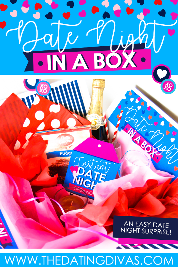 THIS IS SO COOL! I can't wait to whip up this date night in a basket or box for my hubby! #thedatingdivas #datenightinabasket #datenightgiftideas #datenightbasket