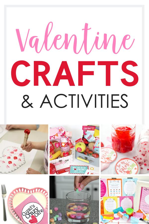 Fun Valentine Crafts & Activities for Kids