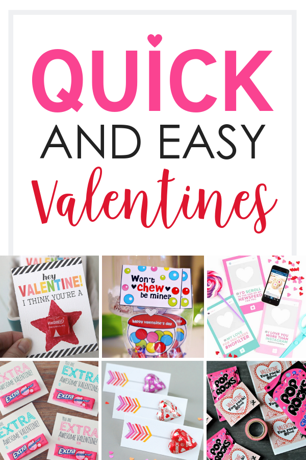 Quick and Easy Valentines Day Ideas for Kids