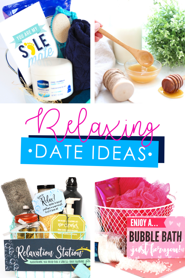 Relaxing Date Night Basket or Box
