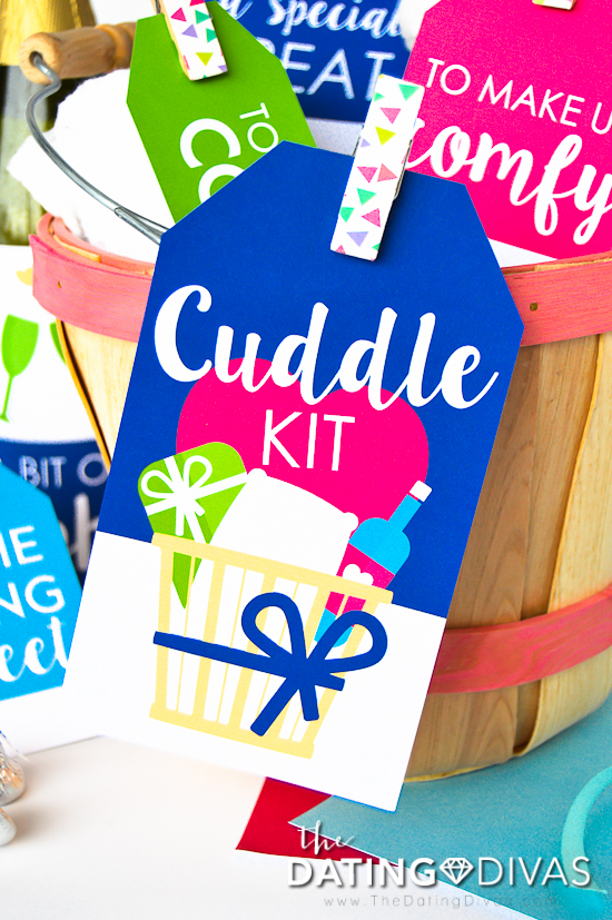 Romantic Cuddle Kit for Two Tag