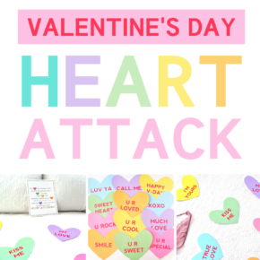 Valentine's Day Heart Attack with 2 Versions