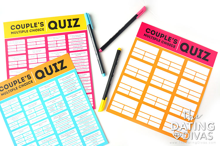 printable dating quiz