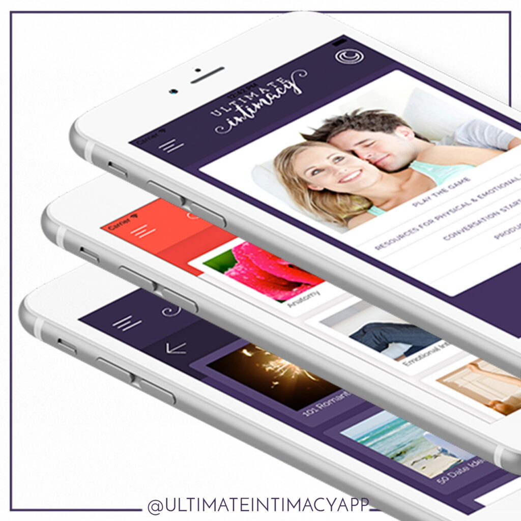 Increase your marriage today with the FREE Ultimate Intimacy App!