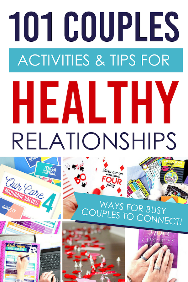 Create a happy marriage despite being busy! #healthyrealtionships #coupleactivities #tipsforhealthyrelationships