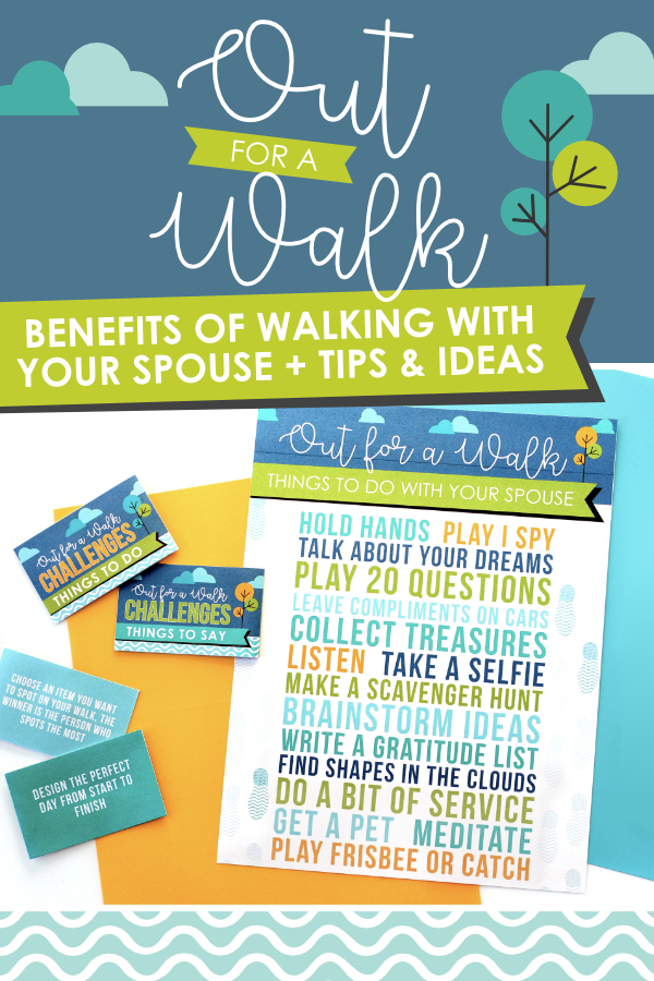 Benefits of Walking with your Spouse - invite your spouse for a simple date! #EasyDateIdea #DatingDivas