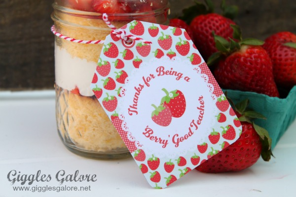 A berry sweet teacher appreciation gift ideas.