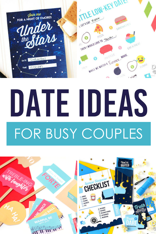 Date Ideas for Busy Couples