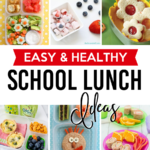 Easy and Healthy School Lunch Ideas