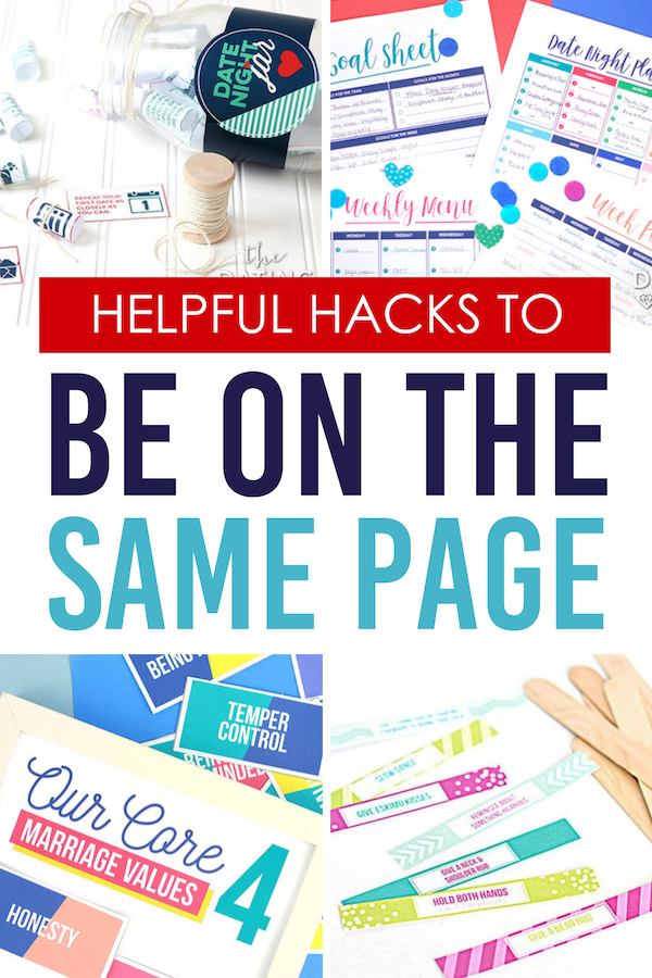 Helpful Hacks to Be on the Same Page