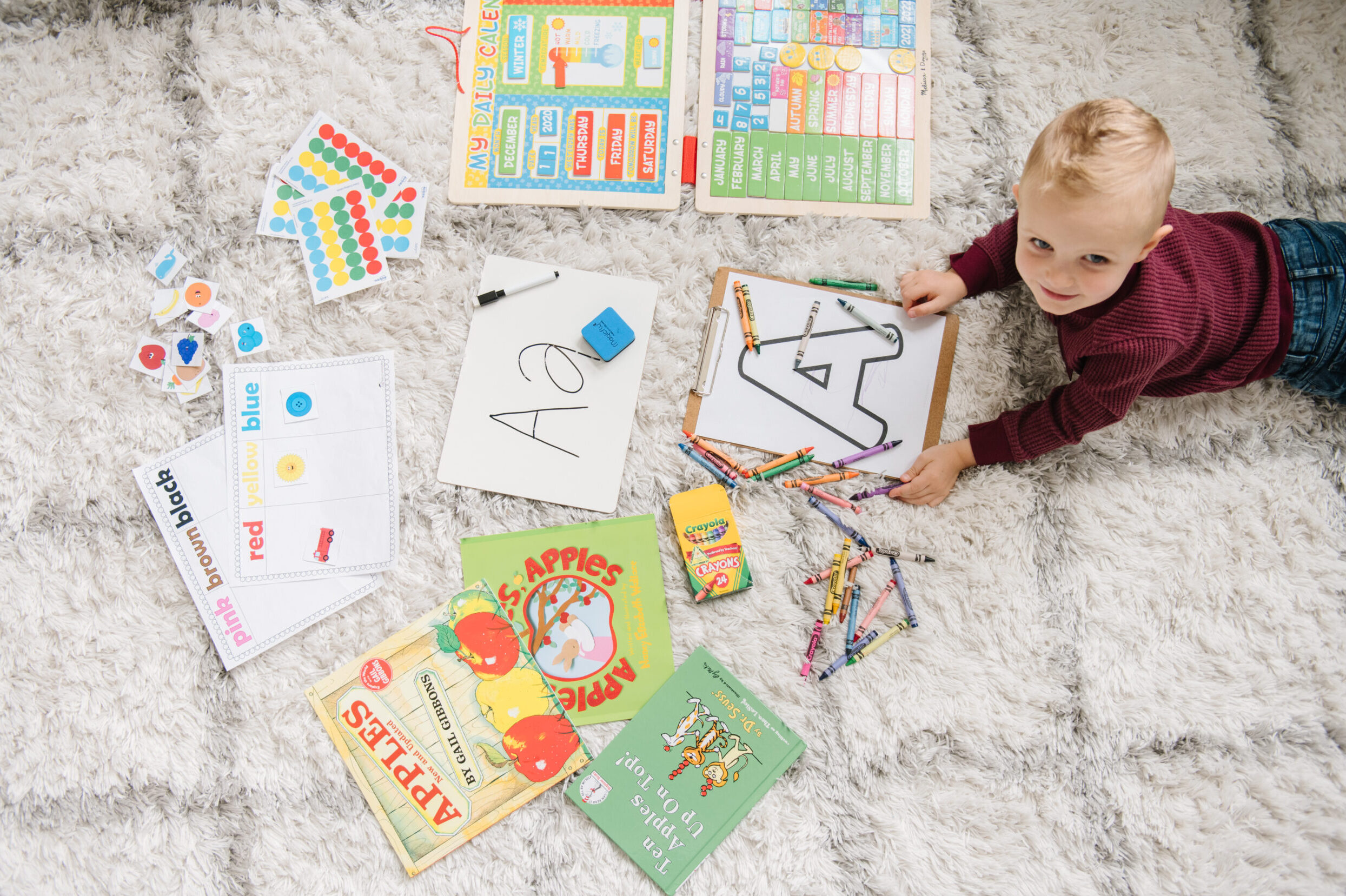 Easy & Fun Printable Preschool Worksheets for Kids | The Dating Divas