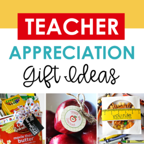 Teacher Appreciation Week Ideas: Gifts and Door Decor
