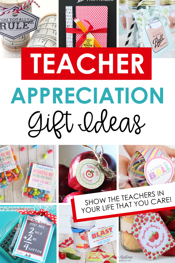 Teacher Appreciation Gift Ideas