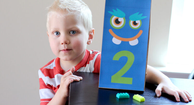 Monster Counting Activity for Toddlers | The Dating Divas