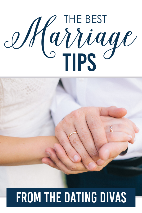 marriage tips banner with a couple kissing in car under parasol