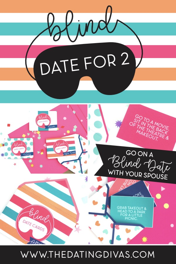 Bring back the butterflies! Go on a blind date with your spouse using these fun envelopes that plan the date for you! #blinddate #dateideasformarriedcouples #lastminutedateideas