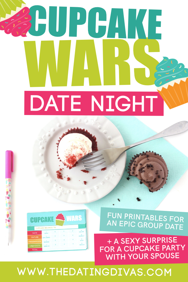 Cupcake Wars printables! I can't wait to host a fun, themed Cupcake Wars party! #CupcakeWars #GroupDateIdea #TheDatingDivas