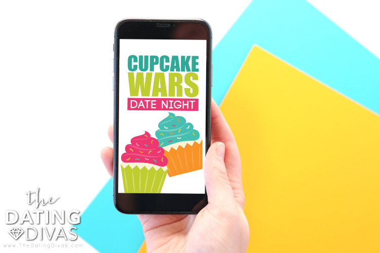 Cupcake Wars Digital Invite
