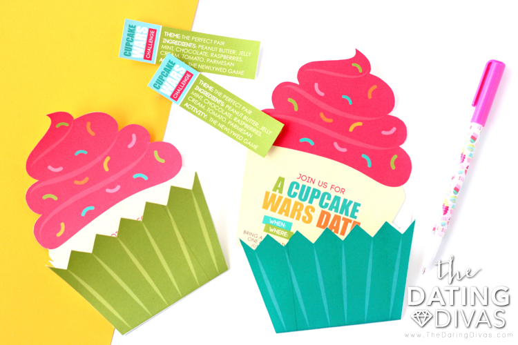 Cupcake Wars Invitation