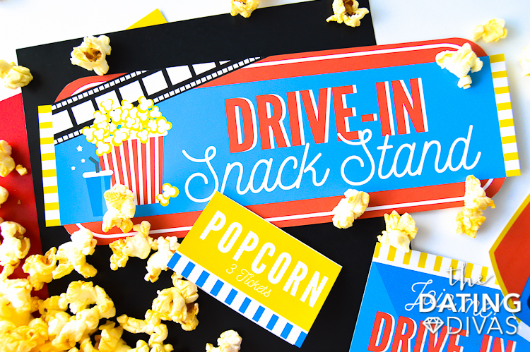 Drive-In Movie Food