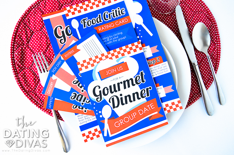 Gourmet Dinner Party Date Printable Pack