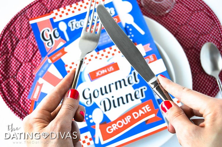 Gourmet Dinner Party Date for Groups