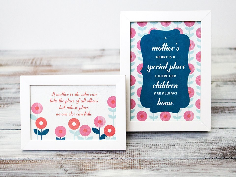 Mothers Day Summer Printable
