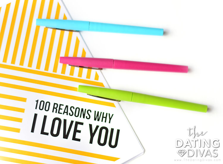 Things I Love About You Book for Spouse - DIY