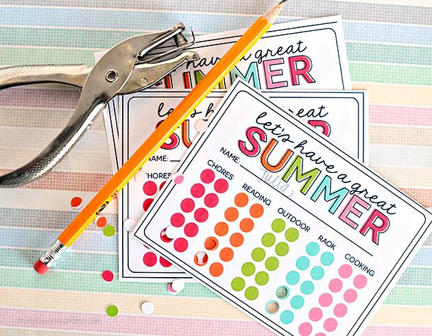 Summer Printable for Kids