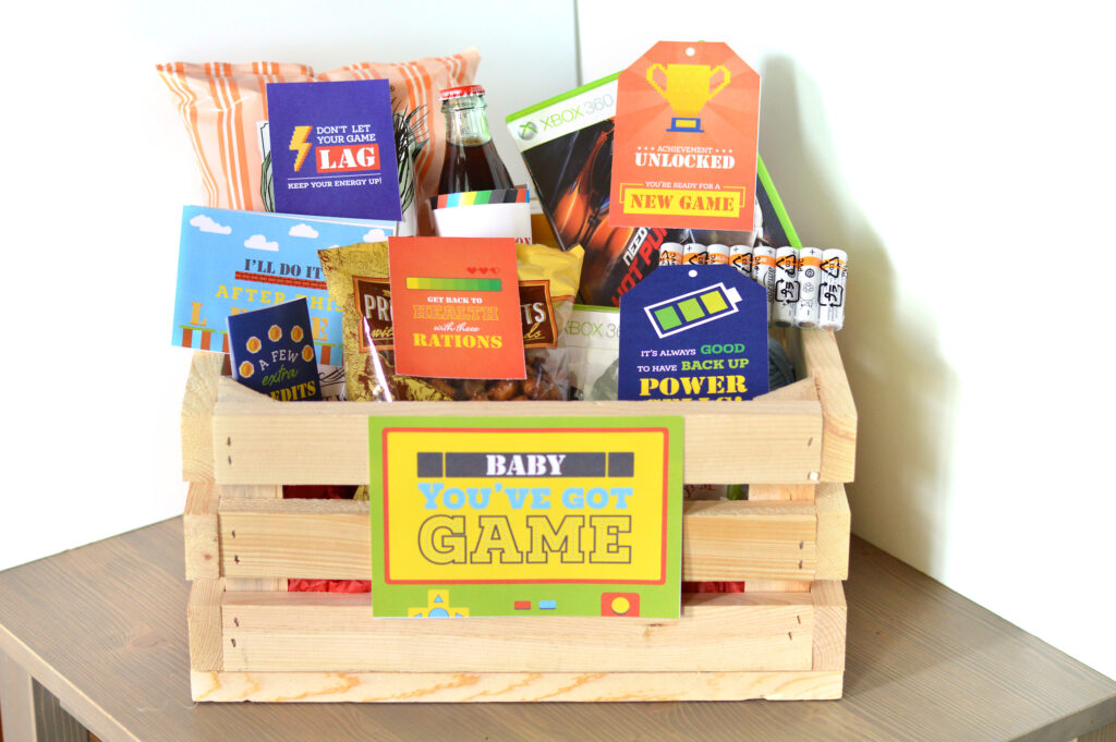 20 Ideas For Creating The Ultimate Gamer Gift Basket The Dating Divas