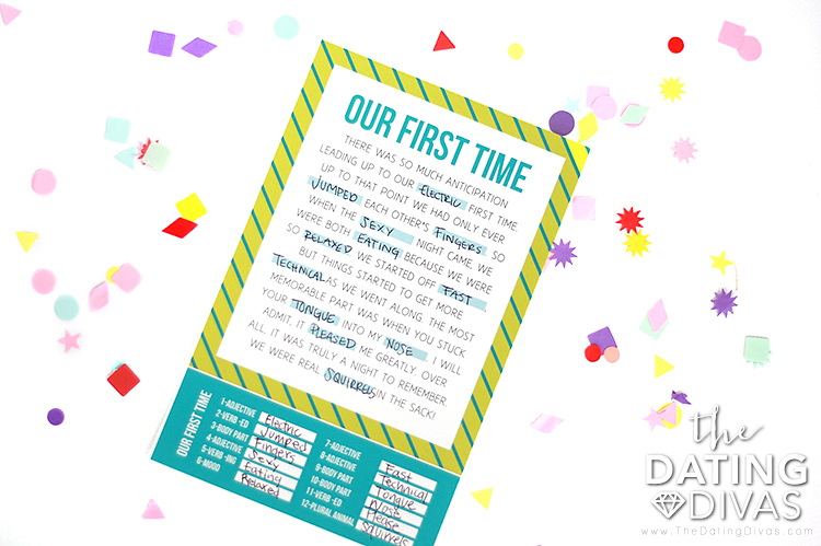 Printable Mad Libs for Adults