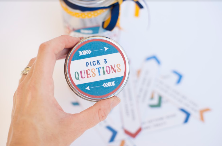 Questions Jar for Talking With Your Child