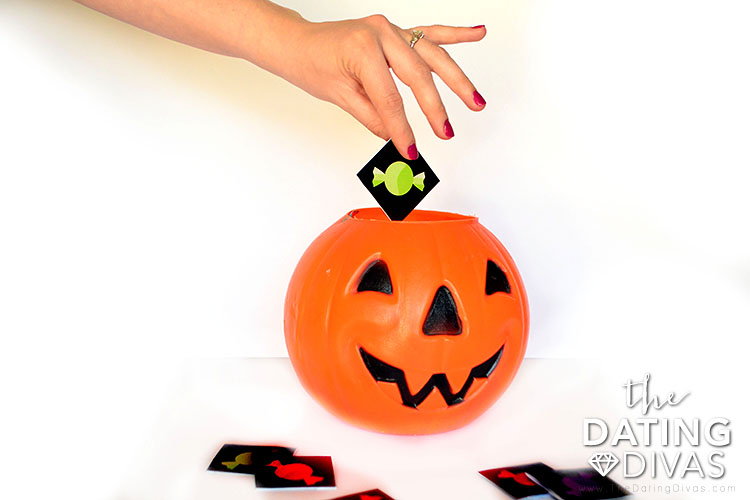 Game Cards for an Adult - Only Trick or Treat