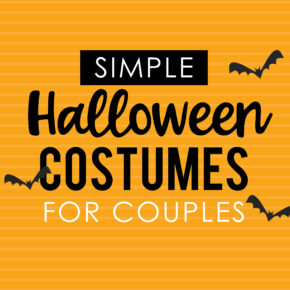 Simple Halloween Costumes for Couples - Quick and Easy