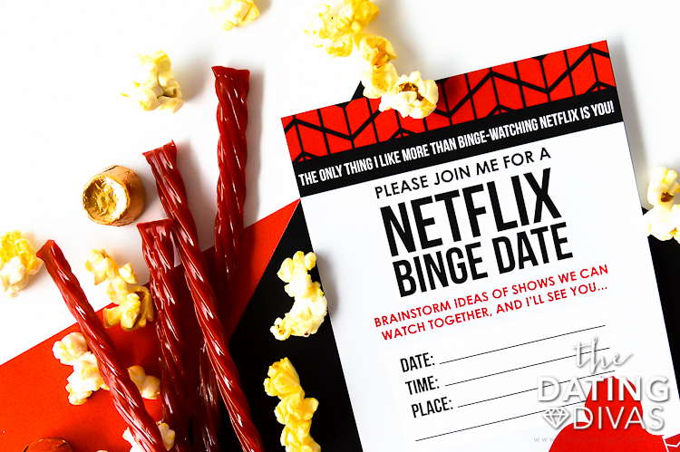 Fun things for couples to do at home - a Netflix Binge!