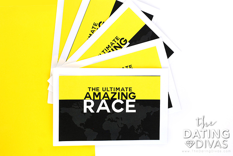 The Amazing Race Challenge Cards