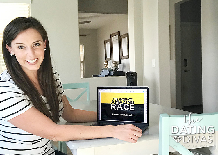 The Amazing Race Customizing Printables
