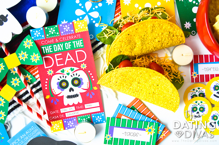 Day of the Dead Invite
