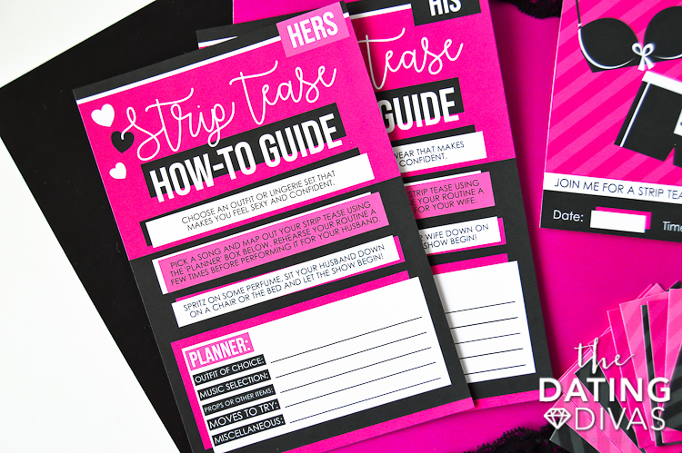 How to Strip Tease Guide