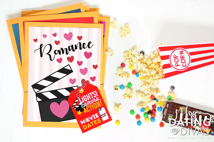 Movie dates for the whole year are a great for an 8th anniversary gift by year! | The Dating Divas
