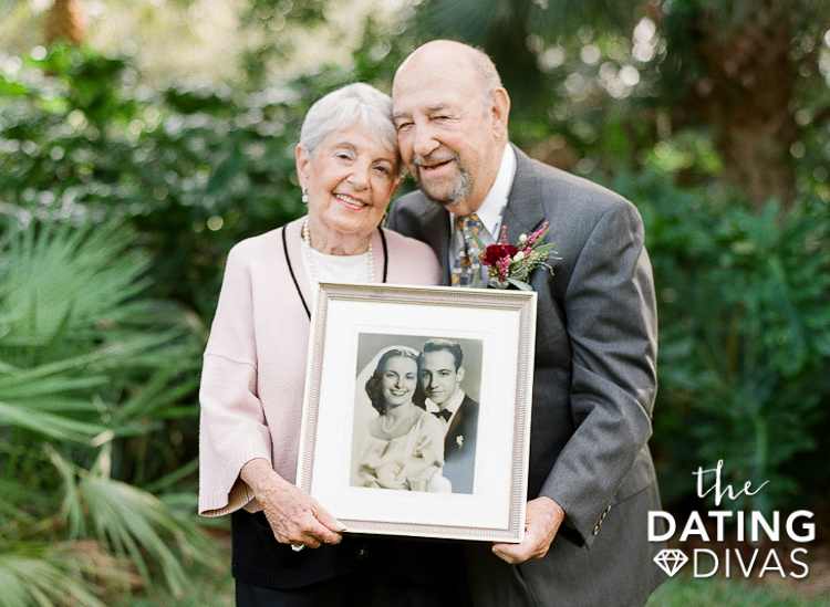 Give a gift that is all about memories for your 60th wedding anniversary. | The Dating Divas