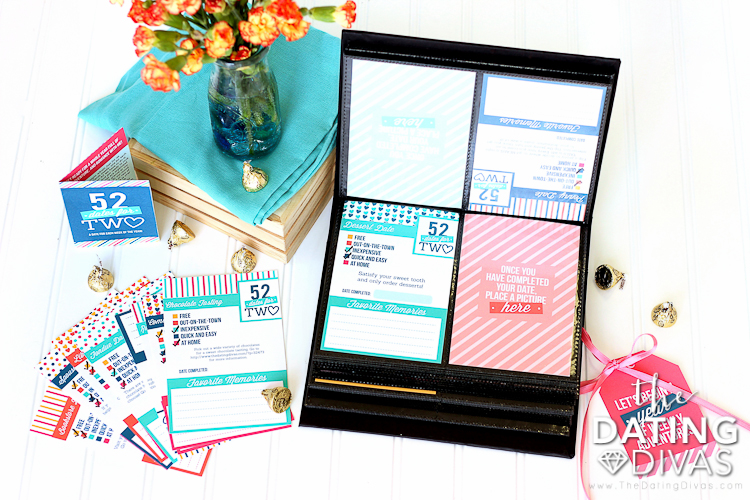 The 52 Dates for 2 is a perfect anniversary gift for ANY year. | The Dating Divas