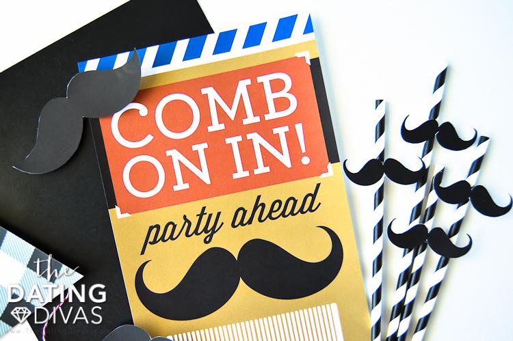No Shave November Party Sign